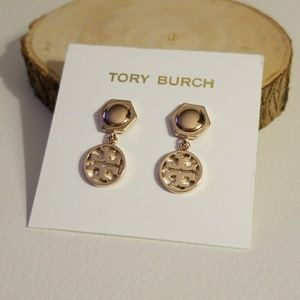 Tory Burch hexagon drop earrings